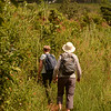 walking at at Mlilwane Wildlife Sanctuary, beneath the Nyonyane Mountains