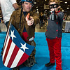 Captain America and Bucky