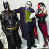 Batman, Joker, and Harley Quinn