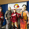 Freddy Krueger, Jason Voorhees, Iron Man, and Leatherface