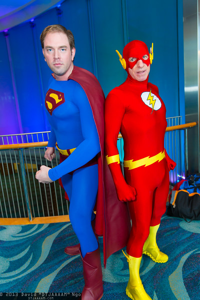 Superman and Flash