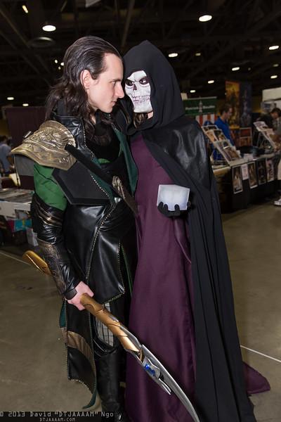 Loki and Death