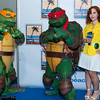 Michelangelo, Raphael, and April O'Neil