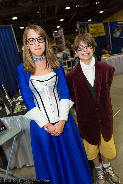 Elizabeth and Bilbo Baggins