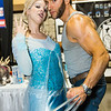 Elsa and Wolverine
