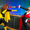 Batgirl and Harley Quinn
