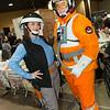 Rebel Trooper and X-wing Pilot