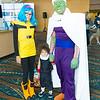 Bulma, Gohan, and Piccolo