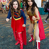 Supergirl and Wonder Woman