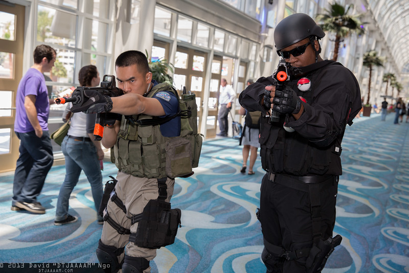 Chris Redfield and Team Rocket