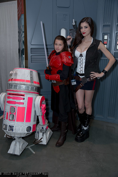 R5 Droid, Sigel Dare, and Han Solo