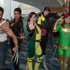 Wolverine, Lady Deathstrike, Rogue, Gambit, and Phoenix