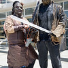 Leatherface and Jason Voorhees