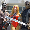 Leatherface, Cheetara, and Jason Voorhees