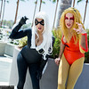 Black Cat and Cheetara