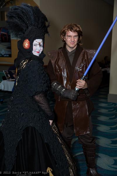Queen Padme Amidala and Anakin Skywalker