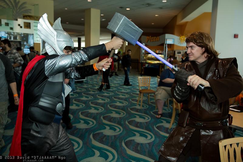 Thor and Anakin Skywalker