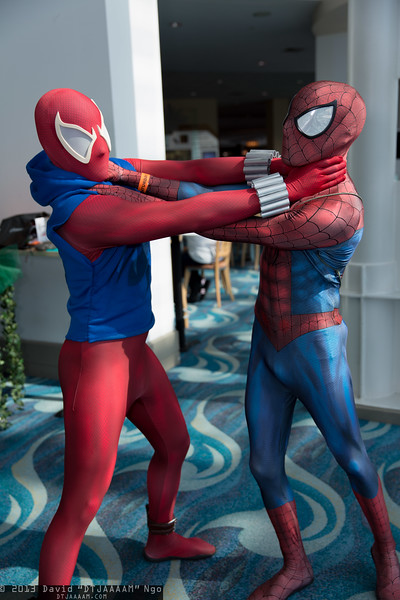 Scarlet Spider and Spider-Man