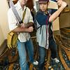 Rick Grimes and Glenn Rhee