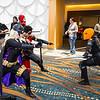 Batgirl, Robin, and Deathstroke the Terminator