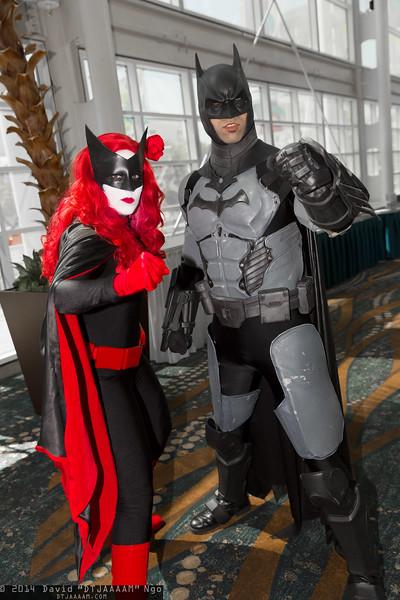 Batwoman and Batman
