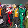 Joker's Henchman, Black Mask, Harley Quinn, Mad Hatter, Riddler, and Poison Ivy