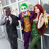 Two-Face, Joker, and Poison Ivy