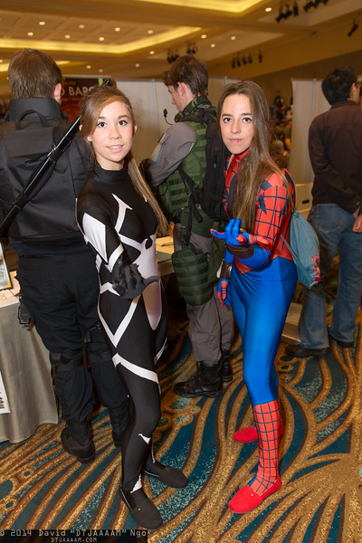 Arachne and Spider-Girl