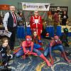 Arachne, J. Jonah Jameson, Spider-Men, Spider-Girl, and Madame Web