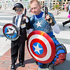 Agent Phil Coulson and Captain America