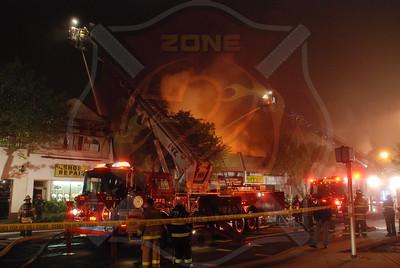 Long Beach F.D. Sig. 10 4th Alarm 134 E. Park Ave. 5/16/09