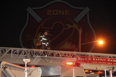 Long Beach F.D. Signal 10 122 Roosevelt Blvd. and 123 Taft Ave. 8/26/12
