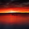 Sunset Over Jamaica Bay,  Queens New York