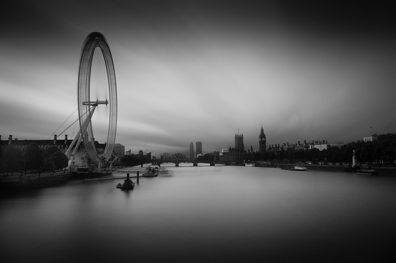The Spinning Wheel, the London Eye