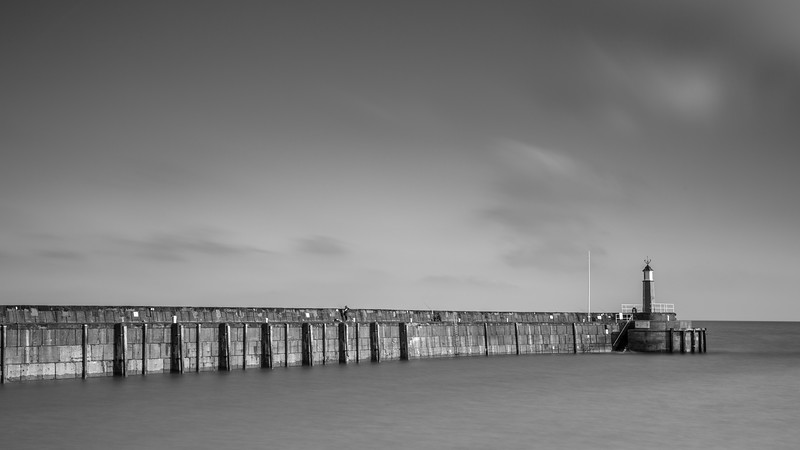 Western Pier at Watchet Harbour