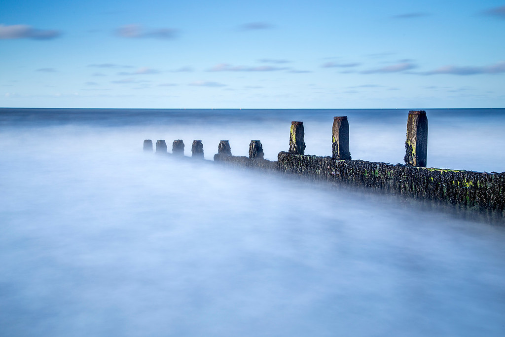 The Groynes at Cromer Norfolk