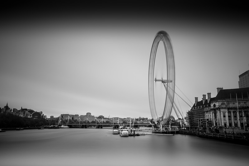 The Spinning Wheel, (The London Eye)