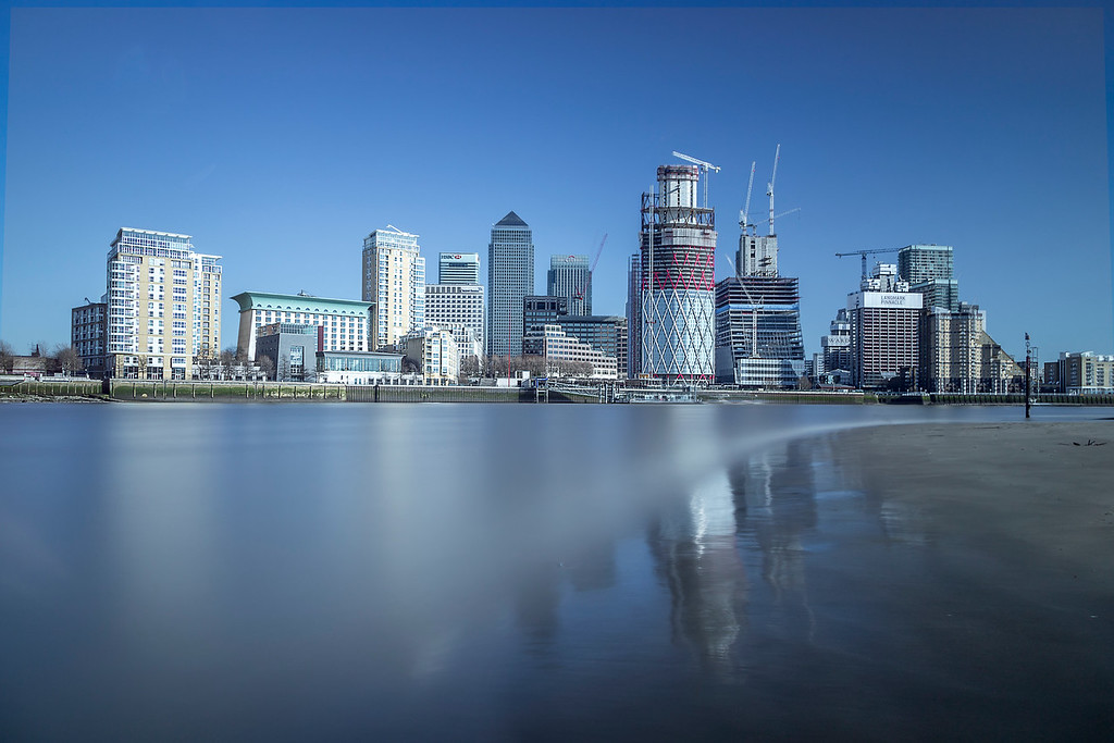 The ever changing london Docklands