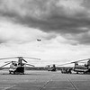 Chinooks on the pan at RAF Odiham -2