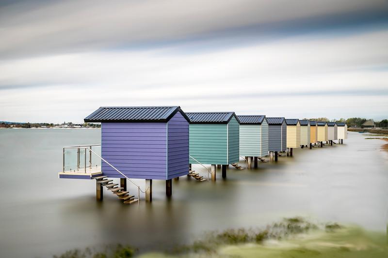 Water huts