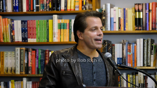 Anthony Scaramucci photo by Rob Rich/SocietyAllure.com ©2018 robrich101@gmail.com 516-676-3939