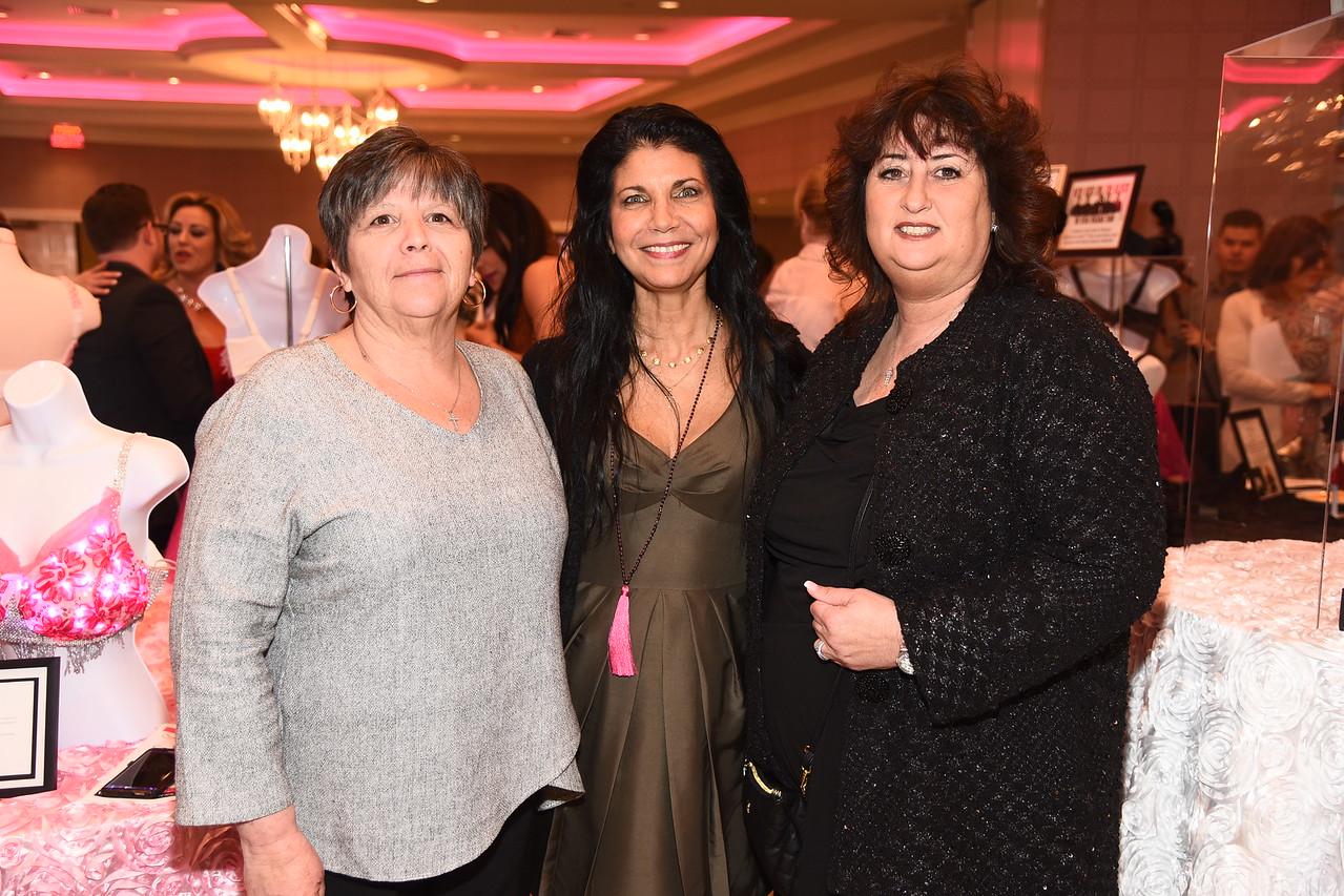 Ann Kline , Marie Elena Di Mino, Jeanette Pirogiannis photo by Rob Rich/SocietyAllure.com ©2017 robrich101@gmail.com 516-676-3939