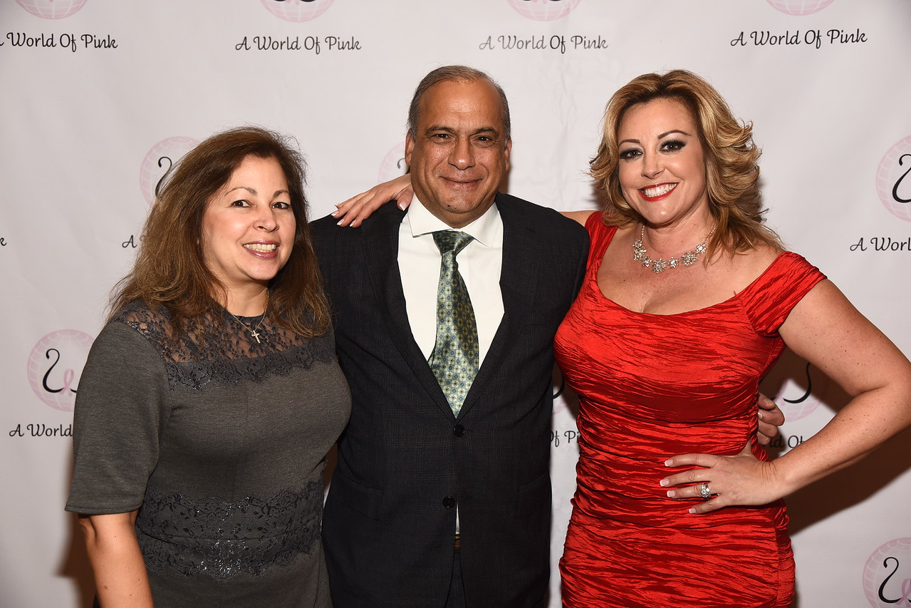 Dr. Nick Kleopoulos, Christine Guarino, Betty Kleopoulos
