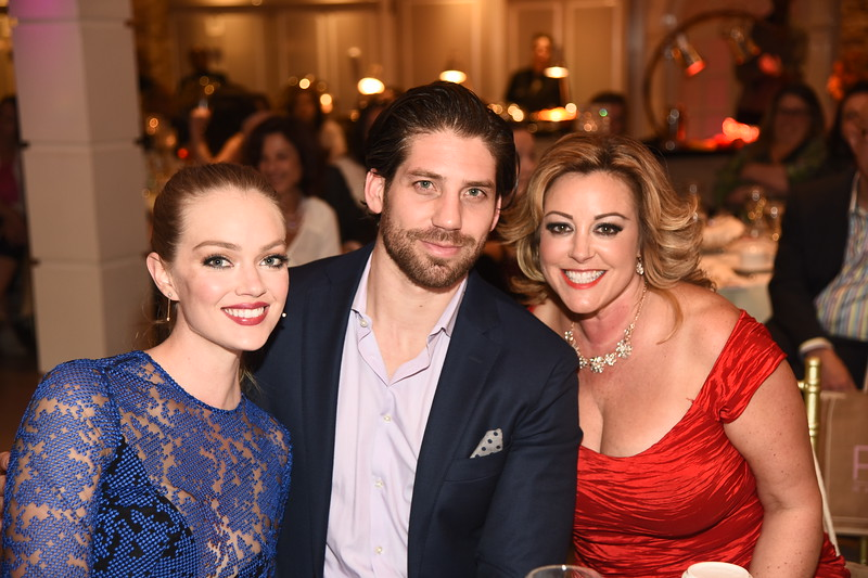 Lindsay Ellingson, Sean Clayton, Christine Guarino