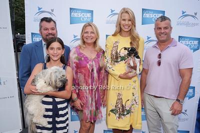 Kurt Bohlsen, Hannah Bohlsen, Debra Halpert, Beth Stern, Mike Bohlsen  photo by Rob Rich/SocietyAllure.com ©2017 robrich101@gmail.com 516-676-3939