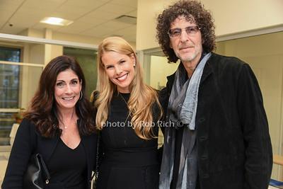 Lisa Lande, Beth Stern, Howard Stern photo by Rob Rich/SocietyAllure.com ©2019 robrich101@gmail.com 516-676-3939