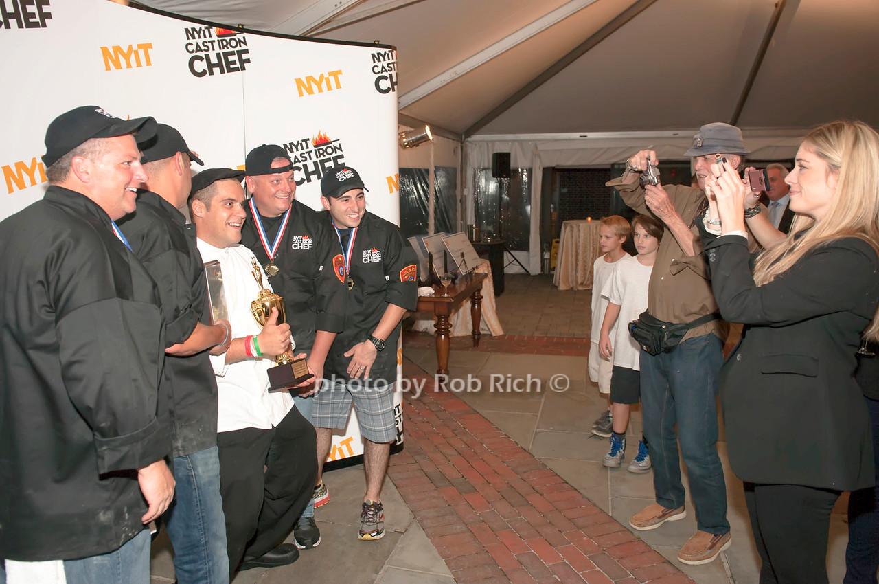 Winning Suffolk County team with Chef Angelo Rodrigues.