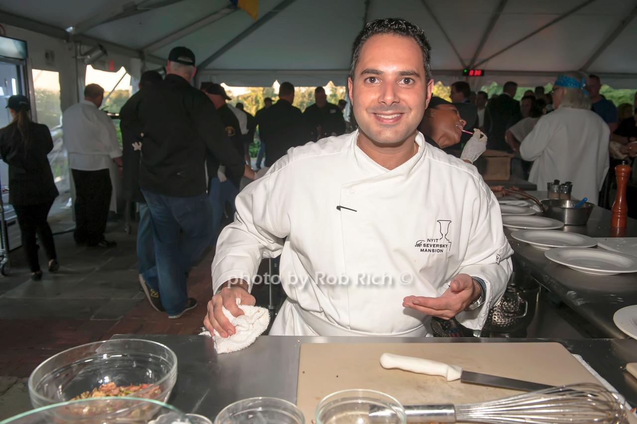 NYIT Chef Anton Vazanellis.