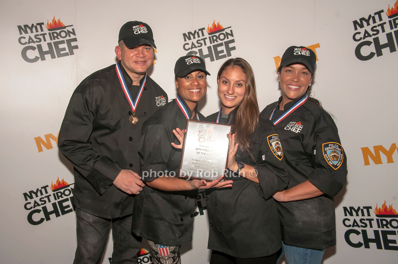 Team NYPD 5th place winners.