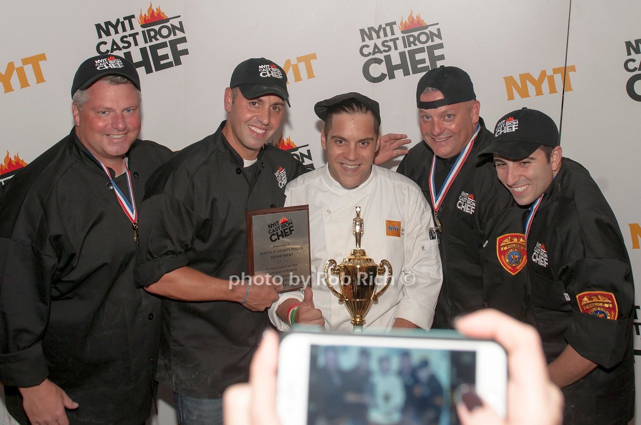 Winners, Suffolk county with Chef Angelo Rodrigues.
